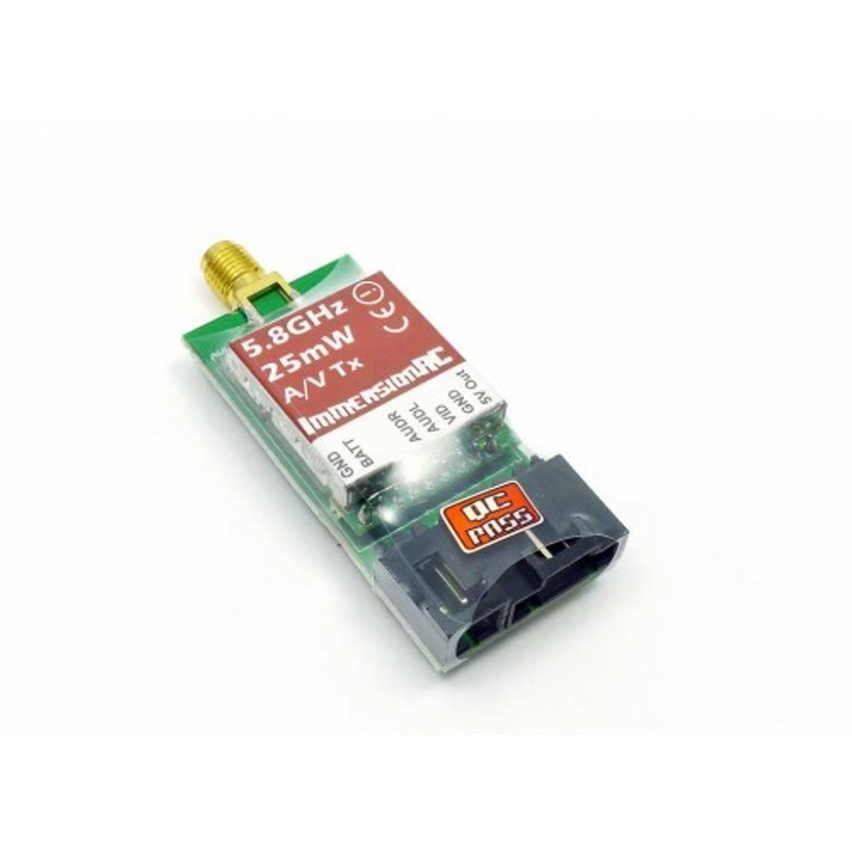 4701002 / MC / ImmersionRC 5.8GHz 25mW Transmitter für FPV / LEGAL IN D / 6-25V - Bild 1