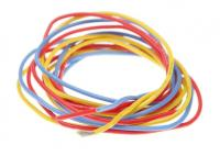 700257 / PN Racing Mini-Z 20AWG Silicon Wire (Red/Yellow/Blue @1meter)