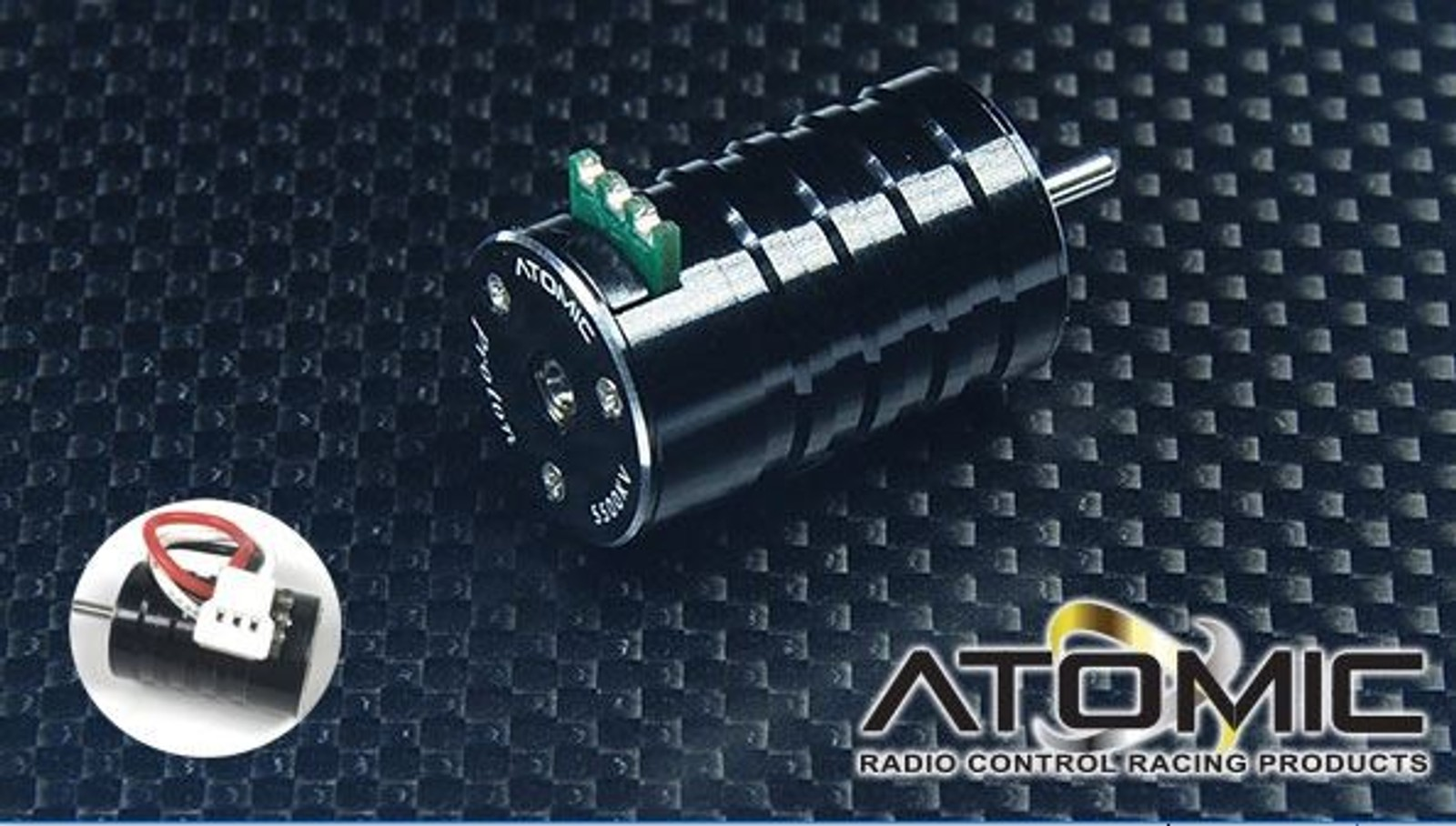 MO-040 / 3500KV Brushless Motor with Plug (AMZ, BZ, AMR) - Bild 2