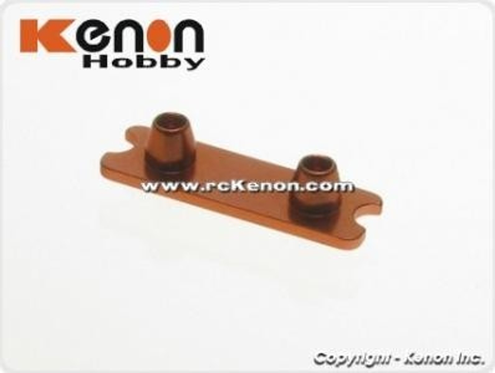 MR3011W / PN / MR-03 / Front Spring Holder (Wide) / Federhalter / orange - Bild 1