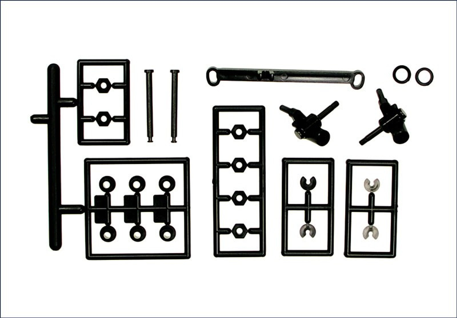 MZ203B / KYOSHO MR02 Front Suspension Arm Set / MZ203B - Bild 1